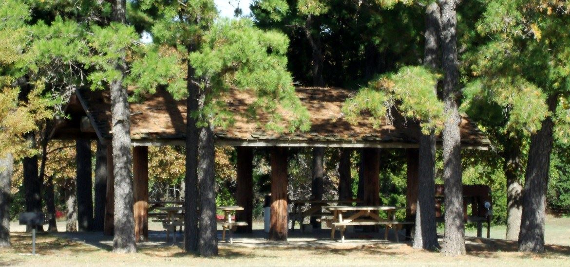 Choctaw Creek Park- Small Pavilion
