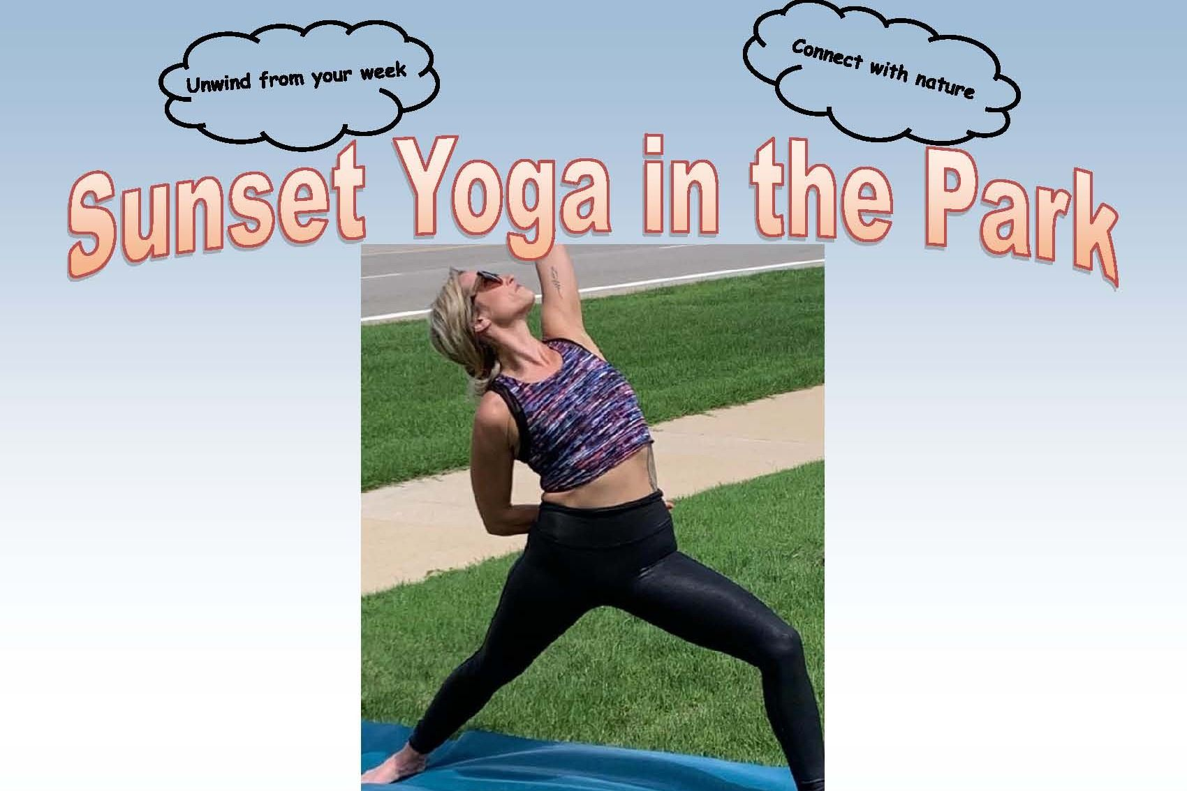 picture of flyer for Yoga in the Park on 092520