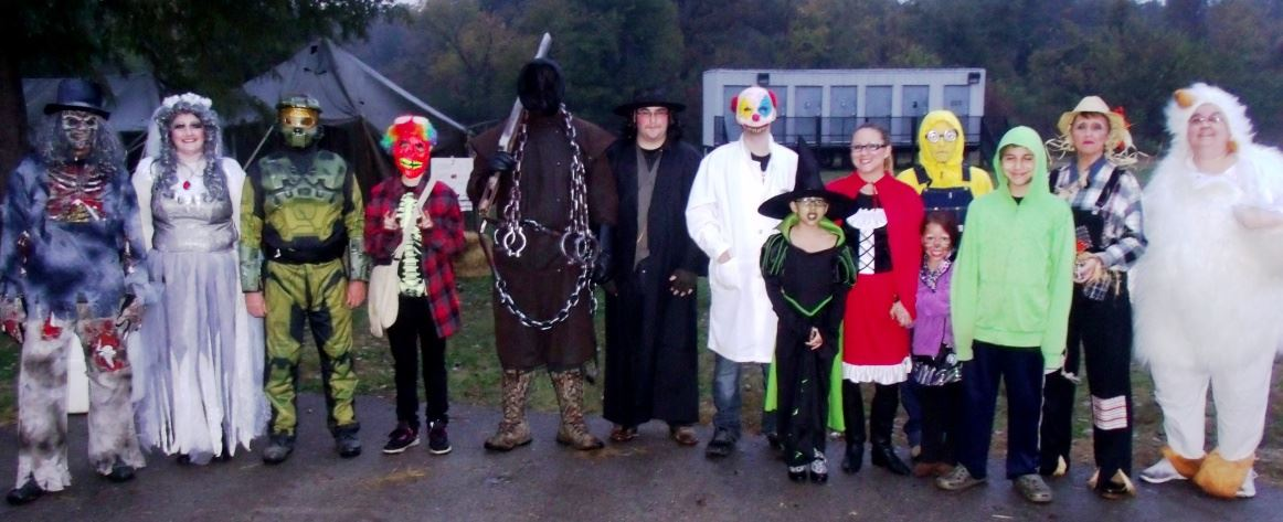 Haunted Trails cast members of 2013